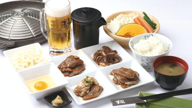 松尾ジンギスカン - 料理写真:初めての方でも大満足のオススメセット