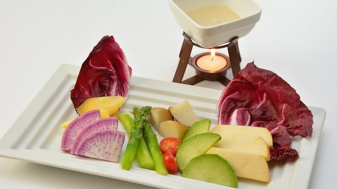 アマルフィイ ノベッロ - 料理写真:三浦野菜のバーニャカウダ