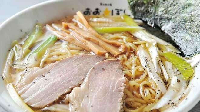 おおぼし - 料理写真:王様中華そば777円
