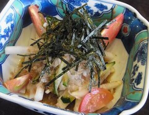 うな炭亭 - 料理写真:和風大根サラダ