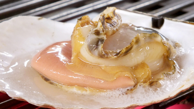 炉ばた 十介 - 料理写真:【北海道産】天然ホタテ焼き