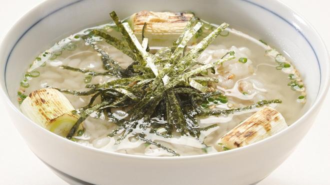 味の牛たん 喜助 - 料理写真:ピリ辛茶漬け