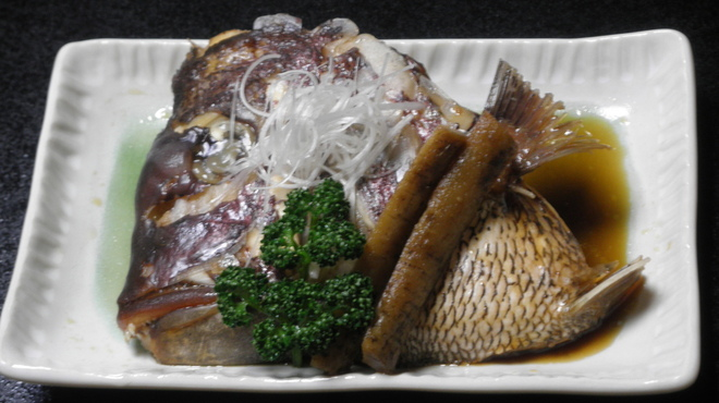 はこだて鮨金総本店 - 料理写真:真鯛かぶと煮