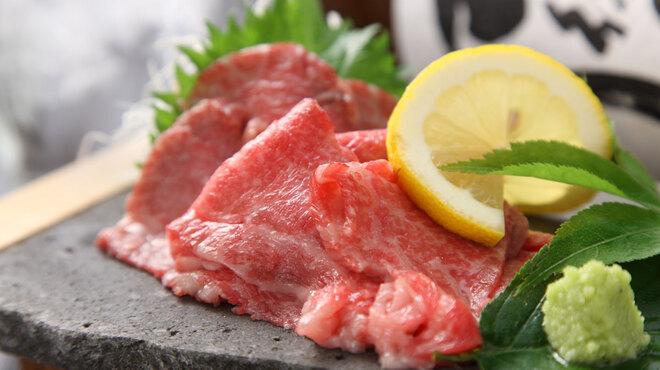 山暖 - 料理写真:特選A5の広島牛!このお値段