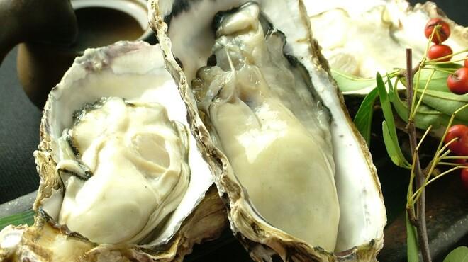 山暖 - 料理写真:江田島産の日本一の牡蠣