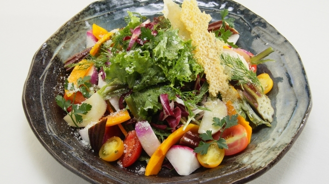 アマルフィイ ノベッロ - 料理写真:青木農園からの季節のサラダ