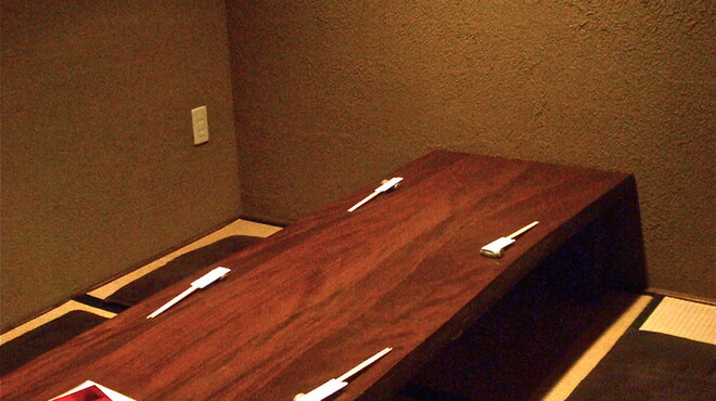 馳走侘助 - 内観写真:お子様連れでもお使い頂け易い半個室の座敷席