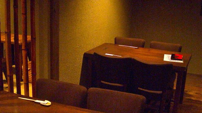 馳走侘助 - 内観写真:落ち着いた雰囲気の店内です