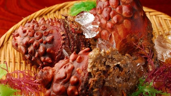 地雷也 - 料理写真:三陸で食べるのが一番!! ホヤ