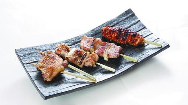 円山 古今 - 料理写真:串ものセット