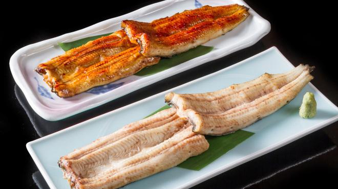 宮川本廛 - 料理写真:蒲焼き、白焼き