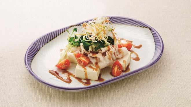 豚肉創作料理 やまと - 料理写真:冷しゃぶ豆腐