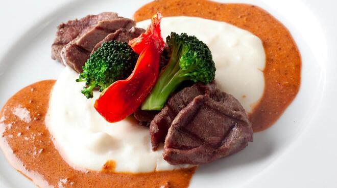 chez MACIO - 料理写真:ダチョウフィレ肉のグリエ