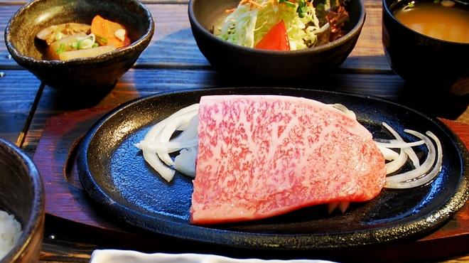 紀州屋 - 料理写真:神戸牛サーロインディナーセット4500円~