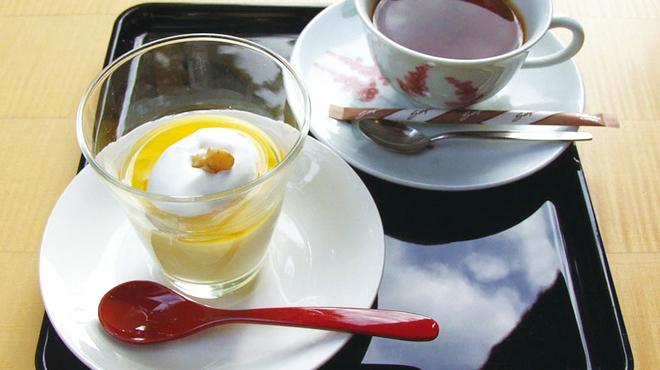 吉野本葛 天極堂 - 料理写真:葛ぷりんセット