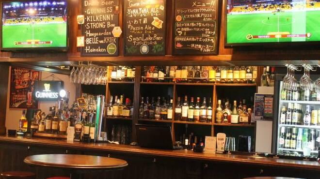 アボットチョイス - 内観写真:お酒を飲みながらサッカー観戦!ワールドカップも放映します!