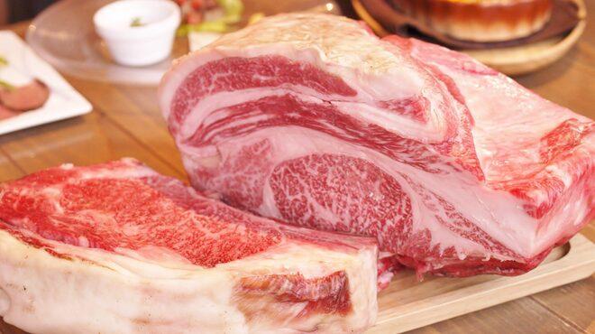 グリルド エイジング・ビーフ - 料理写真:圧巻!大判一枚熟成和牛肉!!
