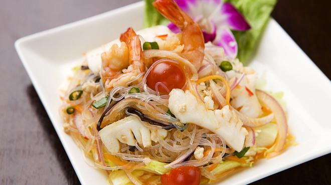 マレーシア ボレ - 料理写真:春雨スパイシーサラダ