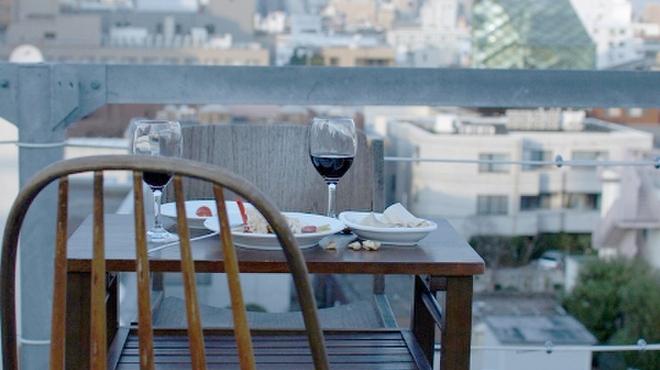 A to Z cafe - その他写真:青山の街を一望できるテラス席