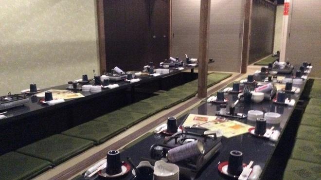 全席個室居酒屋 若の台所~こだわり野菜~ - 内観写真:24名様〜36名様の個室