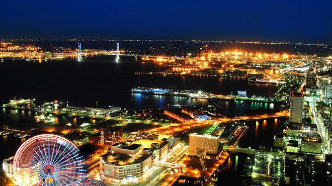 シリウス - 内観写真:横浜の夜景を一望