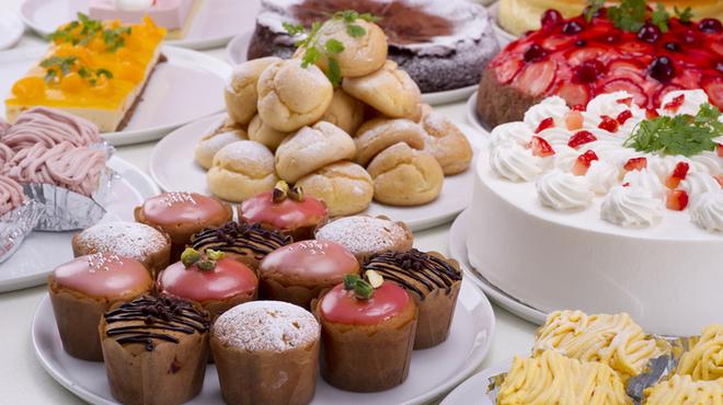 スイーツパラダイス - 料理写真:どれにしようか迷うほどの種類をご用意しています☆