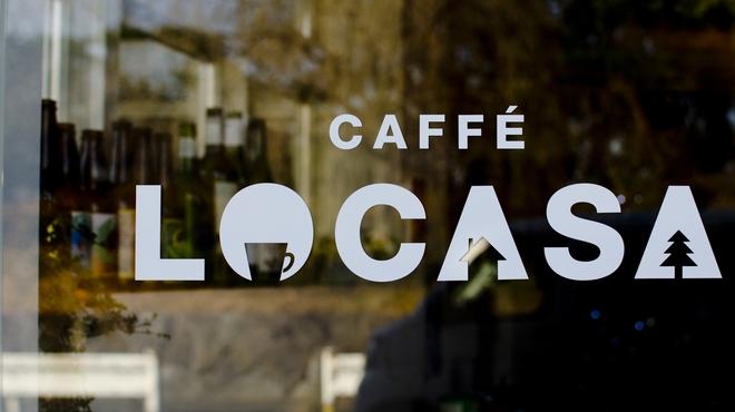 カッフェ ロカーサ - 外観写真:ロカーサのロゴマーク♡