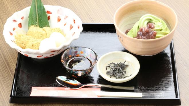 吾妻茶寮 - 料理写真:甘味懐石『舞妓』