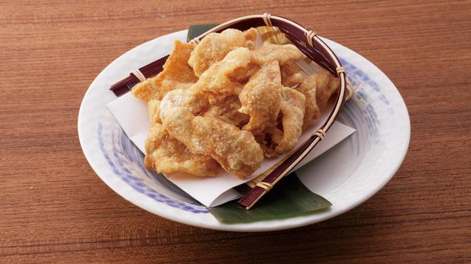 手羽先唐揚 鳥良 - 料理写真:鶏皮唐揚
