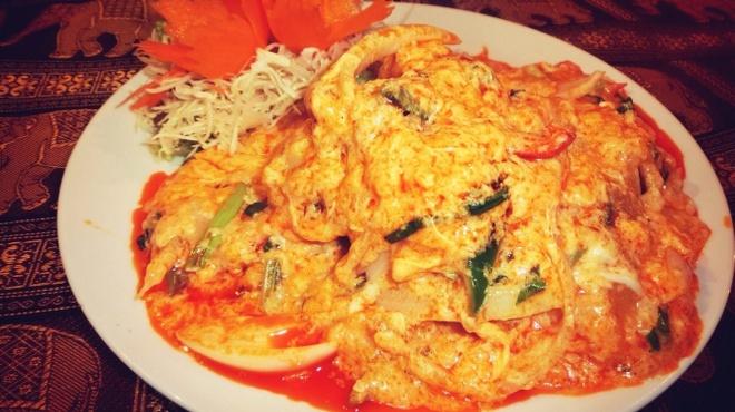 カオタイ - 料理写真:オススメ!! 蟹のふんわりたまごカレー炒め