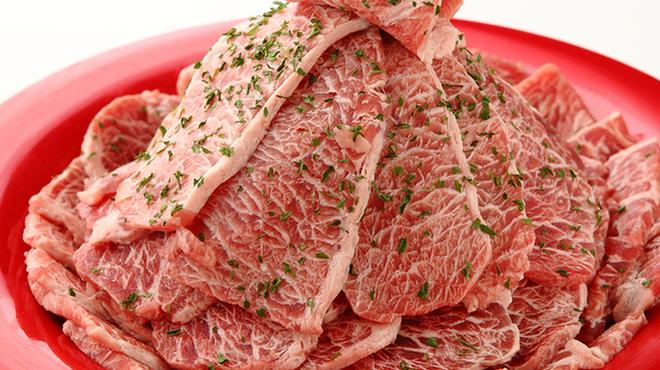 すたみな太郎NEXT - 料理写真:プレミアムカルビ(加工肉)