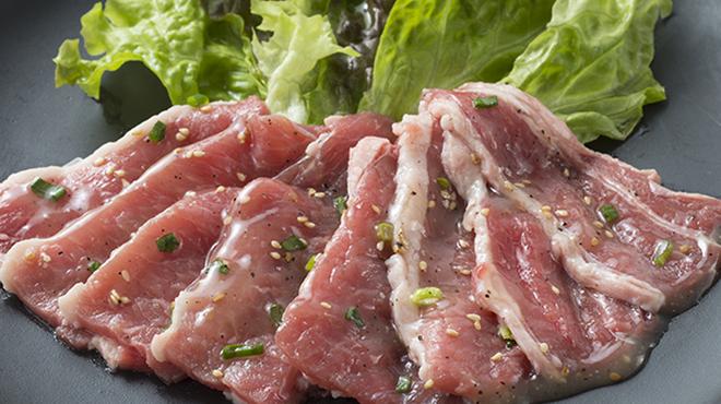 すたみな太郎 - 料理写真:スタミナ牛カルビ(塩ダレ)