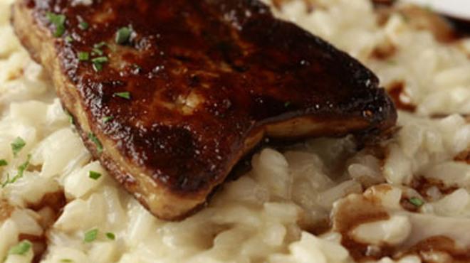 GODDESS - 料理写真:ポルチーニ茸のリゾット フォアグラ乗せ
