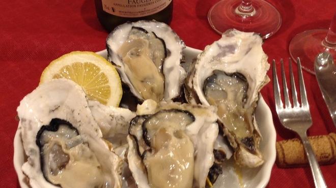 ワイン食堂 がっと - 料理写真:旬の厳選国内産生牡蠣