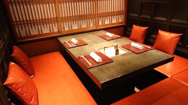 肉匠 なか田 - 料理写真:ゆったりとした個室