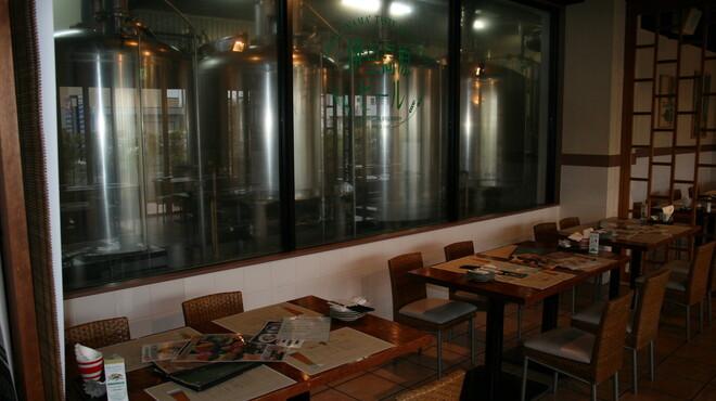 伊豆高原ビール本店レストラン - 内観写真:ビール工場