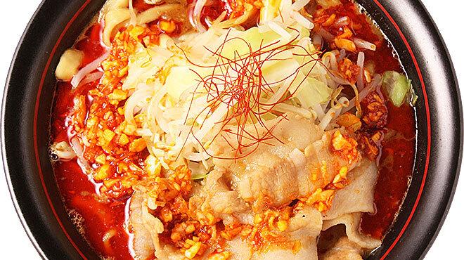 麺創研かなで 紅 - 料理写真:注文率7割の1番人気の基本メニュー! 辛いのがお好きな方向けとなります。