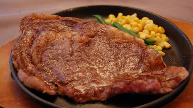 Pops - 料理写真:宮崎県直送 黒毛和牛ステーキ 3300円