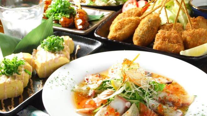桜坂 - 料理写真:当店はお得な飲み放題付きコース