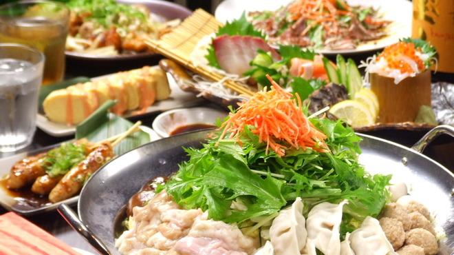 竹取御殿 - 料理写真:豊富な飲み放題付きコースが大人気!