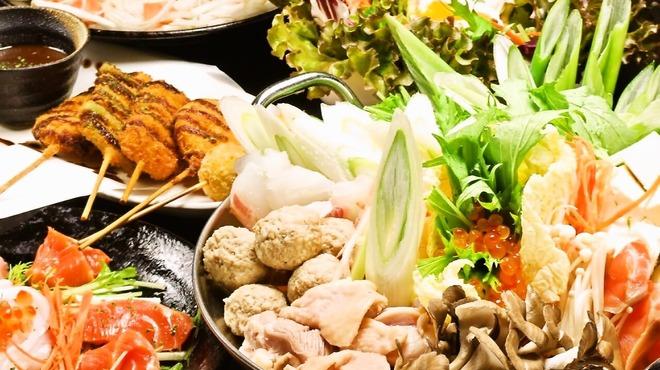 竹取御殿 - 料理写真:個室のお部屋でゆったりとお寛ぎ下さい。