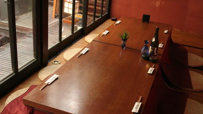 月味座 - 内観写真:一階のご宴会場はこのようになっております(最大25名様)
