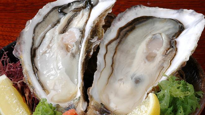 地雷也 - 料理写真:三陸の生牡蠣