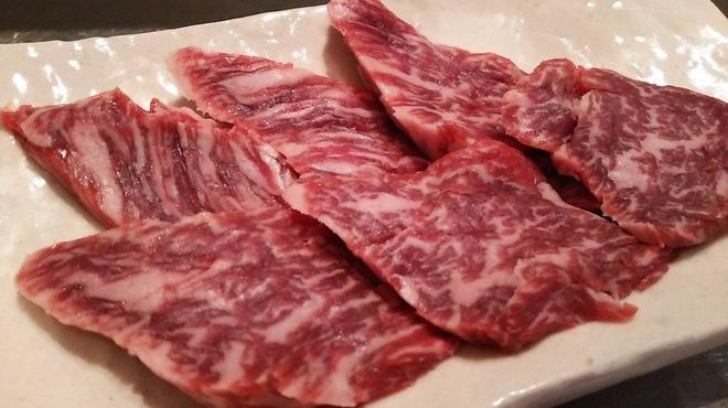 塩ホルモンさとう - 料理写真:国産牛イチボ
