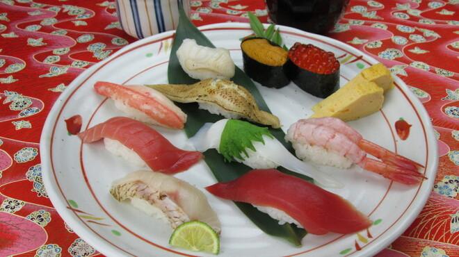 金沢まいもん寿司 - 料理写真:土日祝限定「耀き」(かがやき)2550円