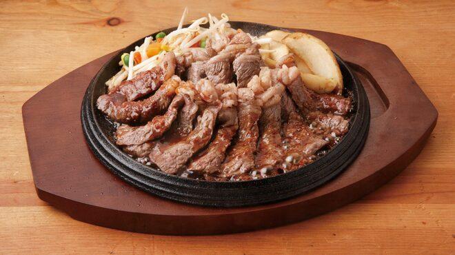 テキサスキングステーキ - 料理写真:Wステーキ