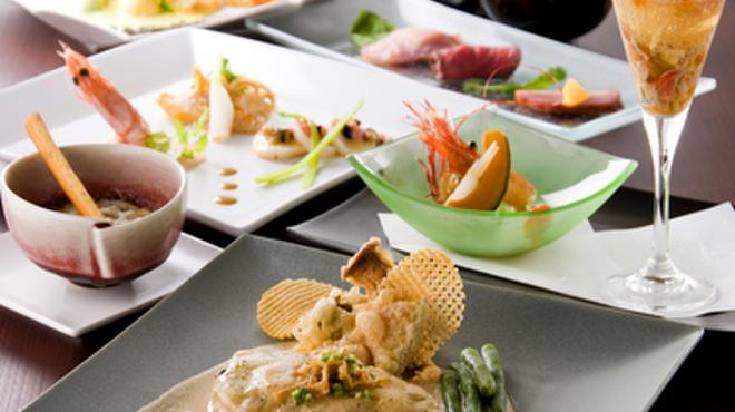 旬菜ステーキ処 らいむらいと - 料理写真:今月のおすすめコース¥4212~