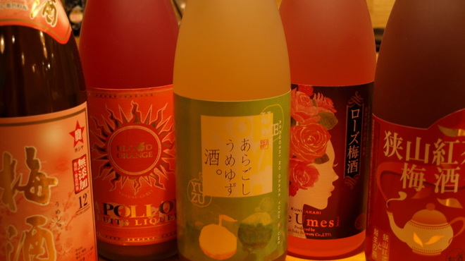 花みずき - 料理写真:定番梅酒から珍しい梅酒までいろいろ取り揃えております!是非一度ご賞味ください!