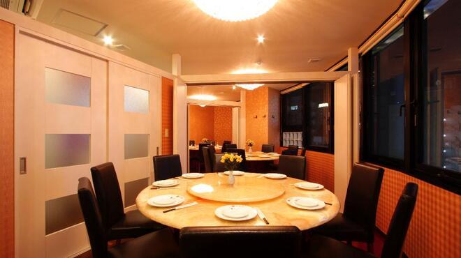 楽楽屋 - 内観写真:8名様から40名様迄ご用途に応じて円卓個室あります。