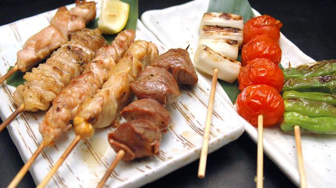 永山本店 - 料理写真:霧島鶏を使ったもりあわせ